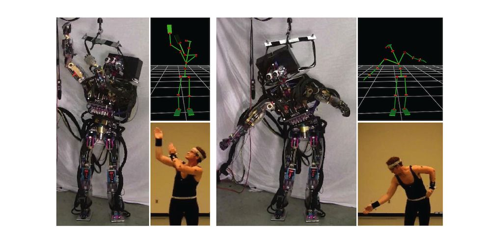 Controlling Humanoid Robots - Disney Research