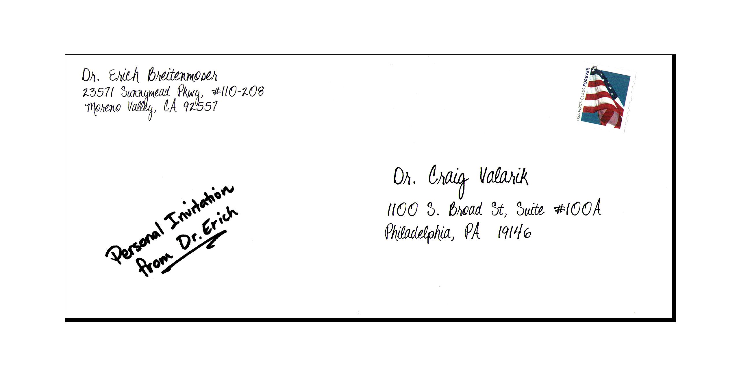 Application Letter Envelope Dafotk Format Address For College