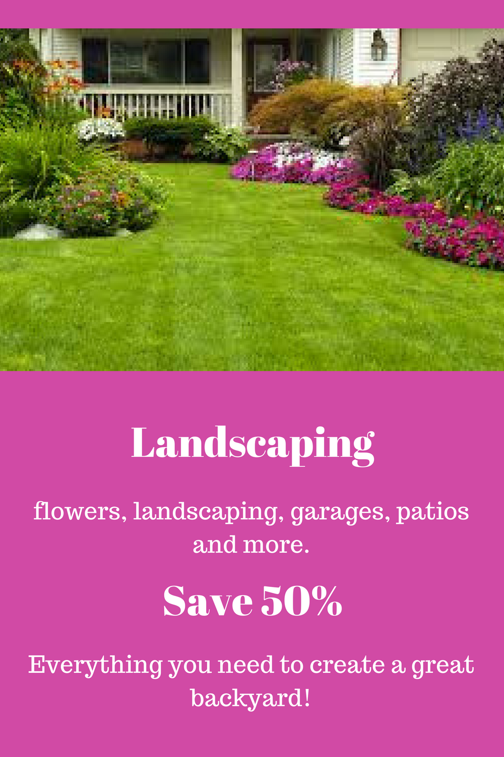 Garden decor ideas diy  Landscaping your yard Save  and DIY  Patio and Back Yard Decor
