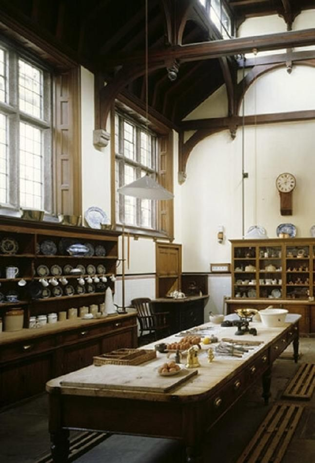 Lanhydrock House Cornwall Uk Scullery Victorian