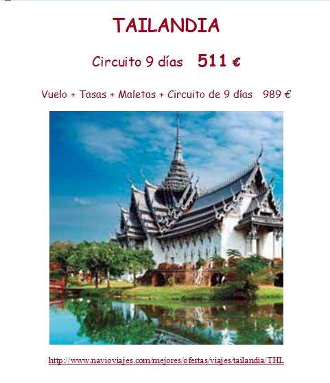 #Tailandia al alcance de todos!!! ¿Quien se apunta?