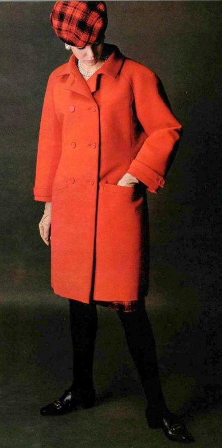 Balenciaga A/H 1965-66. Photo Jean-Louis Guégan.