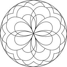 mandalas to print and color | Mandalas for Children | Centrum ...