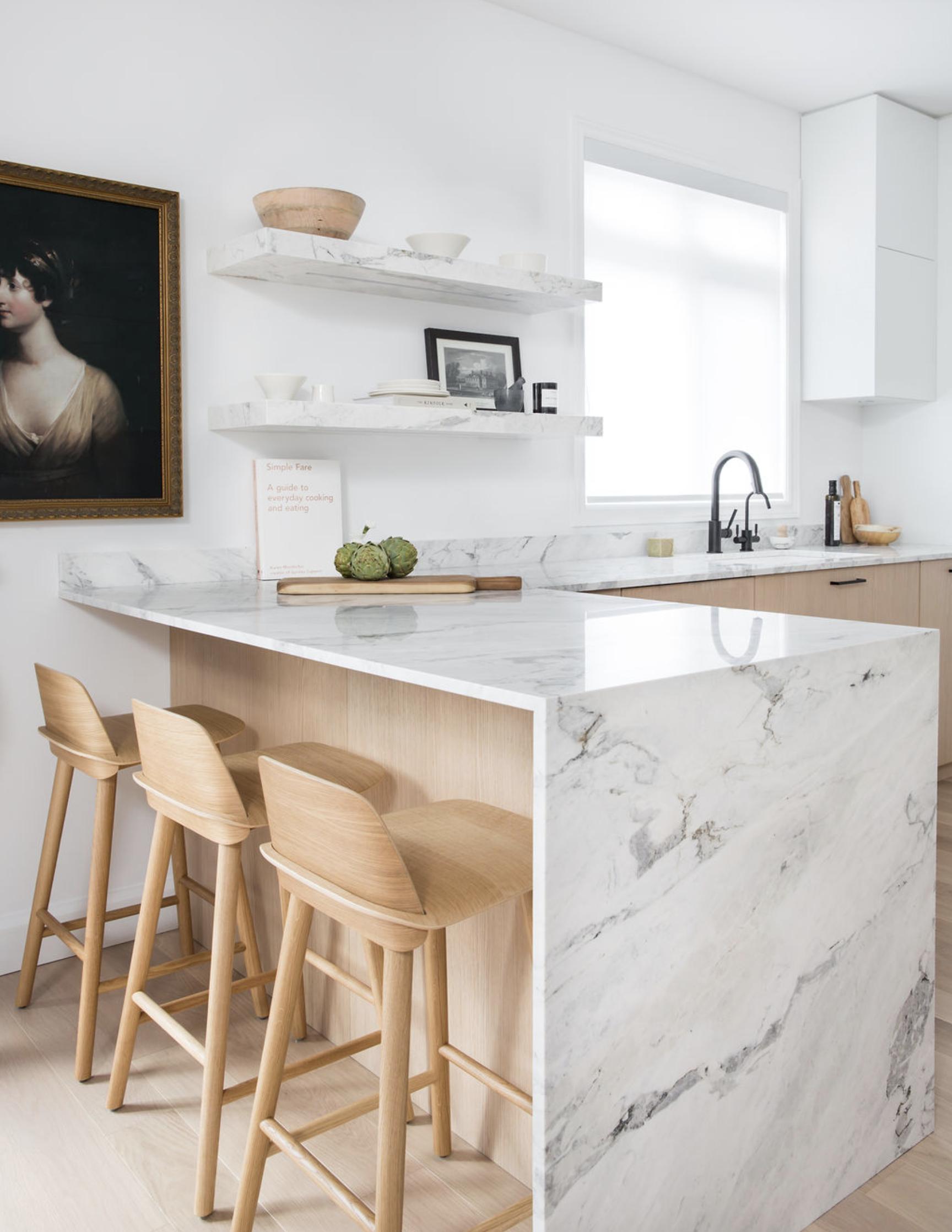 Blonde Wood How To Use It Everywhere The Identite Collective Modern Kitchen Design Kitchen Design Interior Design Kitchen