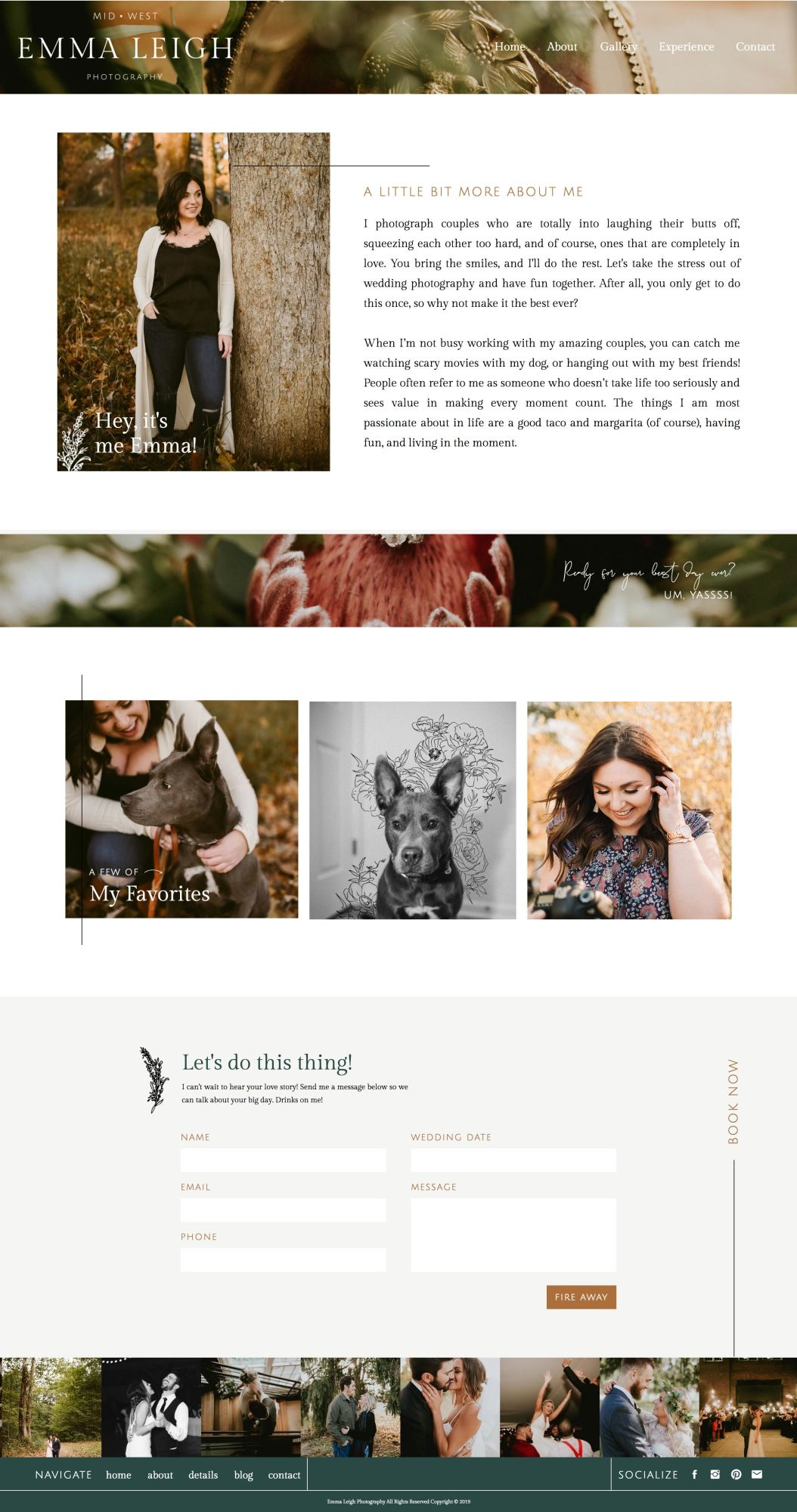 Website Design Photographer Website Business Web Design Homepage Design