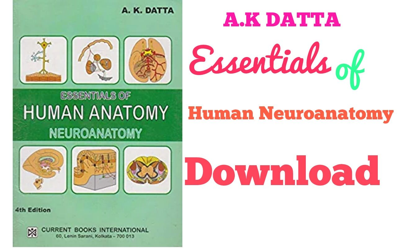 A.K Datta Essentials of Neuroanatomy 3rd edition