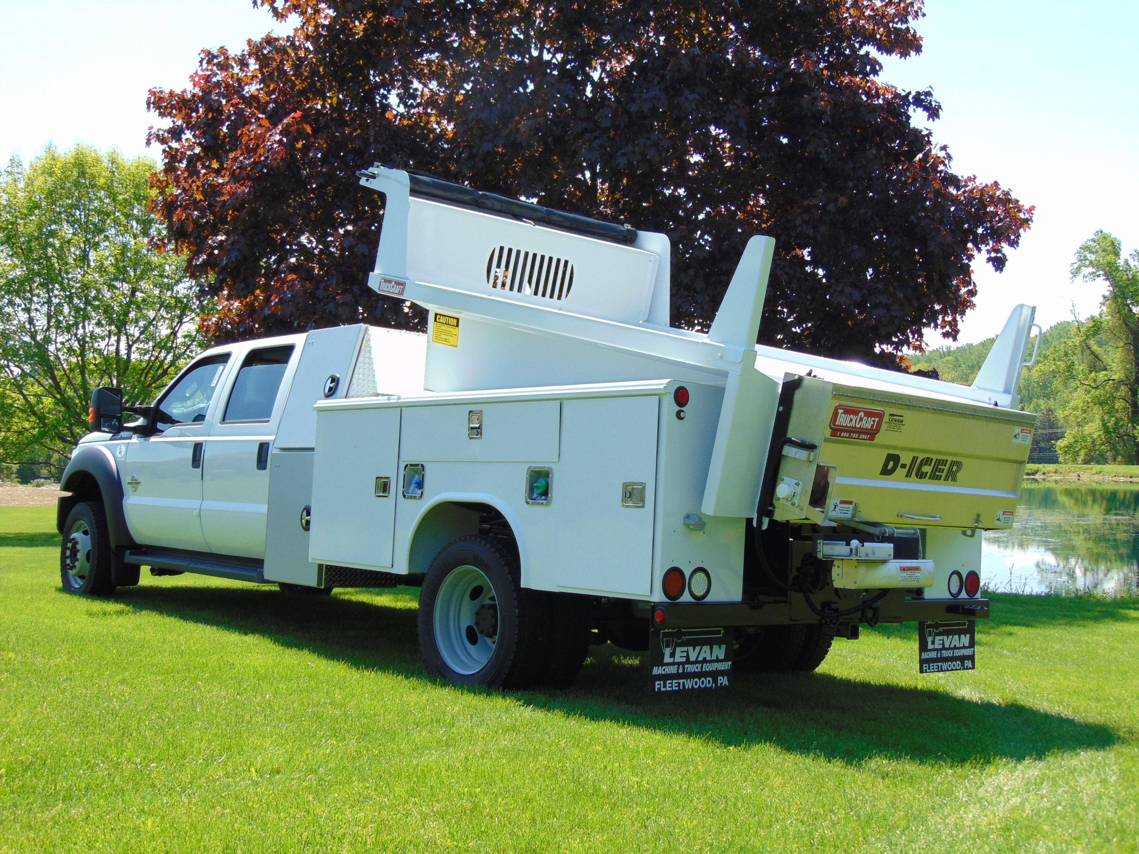 Combination Service Dump Bodies Products Truckcraft Corporation Chambersburg Pa Ford Work Trucks Dump Body Work Truck