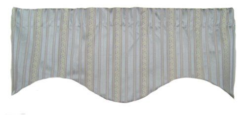 Rlf Home Begonia M Shaped Valance Blue By Rlf Home 24 99 Made