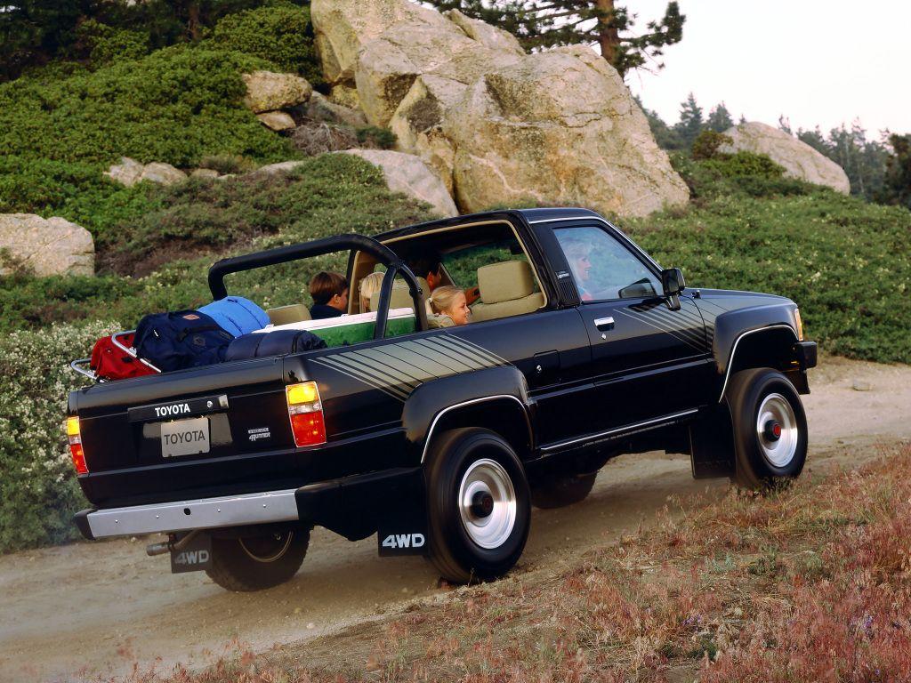 Toyota 4runner Ln61 1986 89 Tojota 4runner Dzhip Pikap