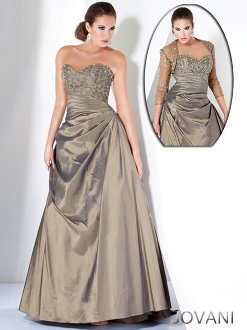 Strapless Mother of the Bride Gown, Style 496