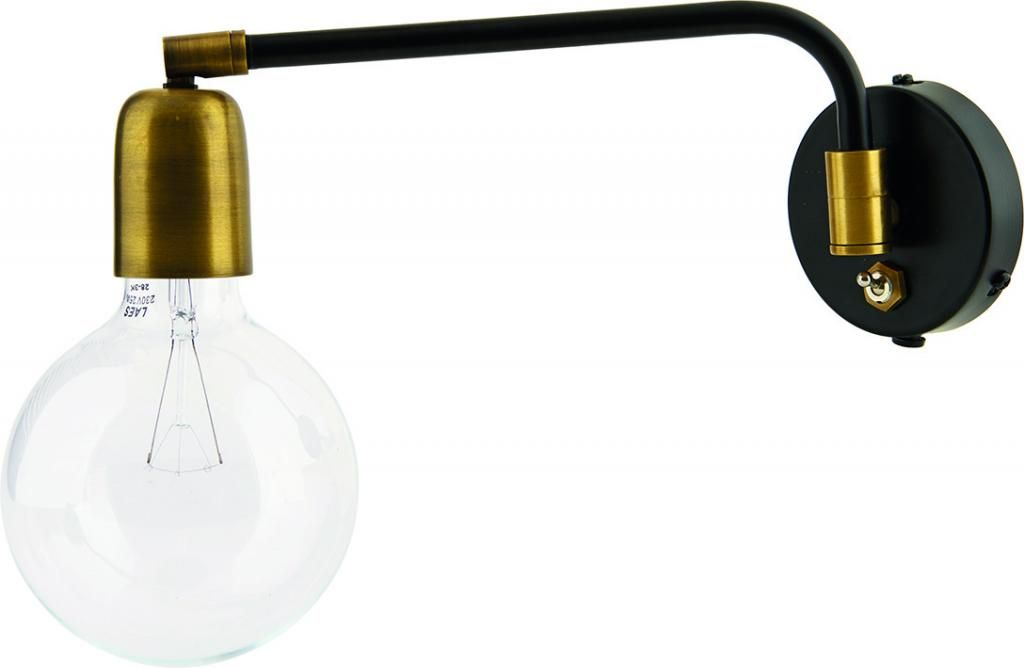Wandlampe Molecular Bronze Schwarz Eisen House Doctor Wandlampe Lampen Leuchtmittel
