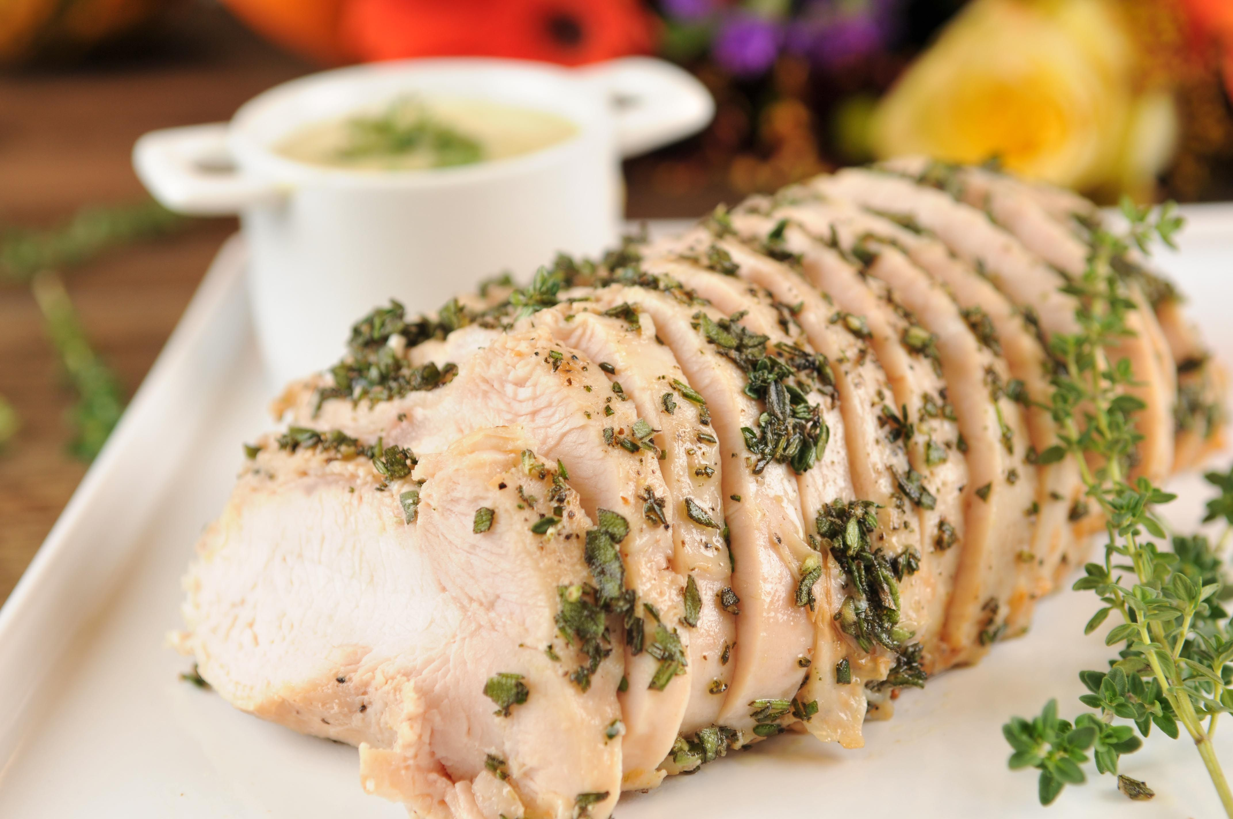 Thanksgiving Special: Sous Vide Turkey Breast (2 Servings Shown with Plenty for…