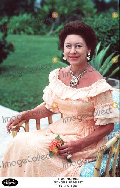 Princess Margaret In Mustique The Caribbean Credit Alpha Globe Photos Inc
