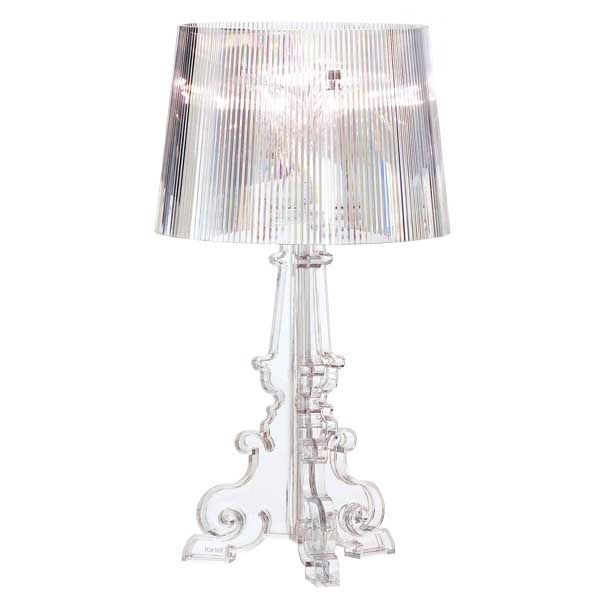 The Bourgie Table Lamp By Kartell Combines Baroque Style