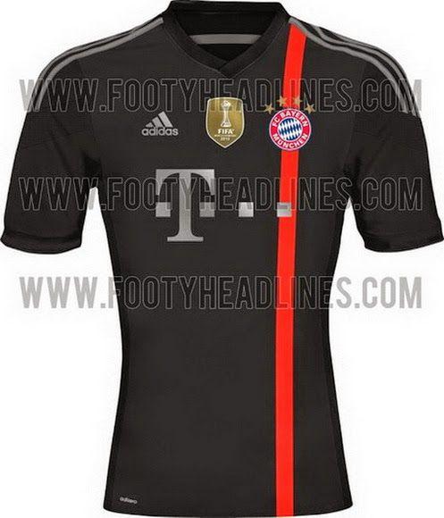 3ae29047b6c9c Nueva camiseta del Bayern Munich 2014 2015