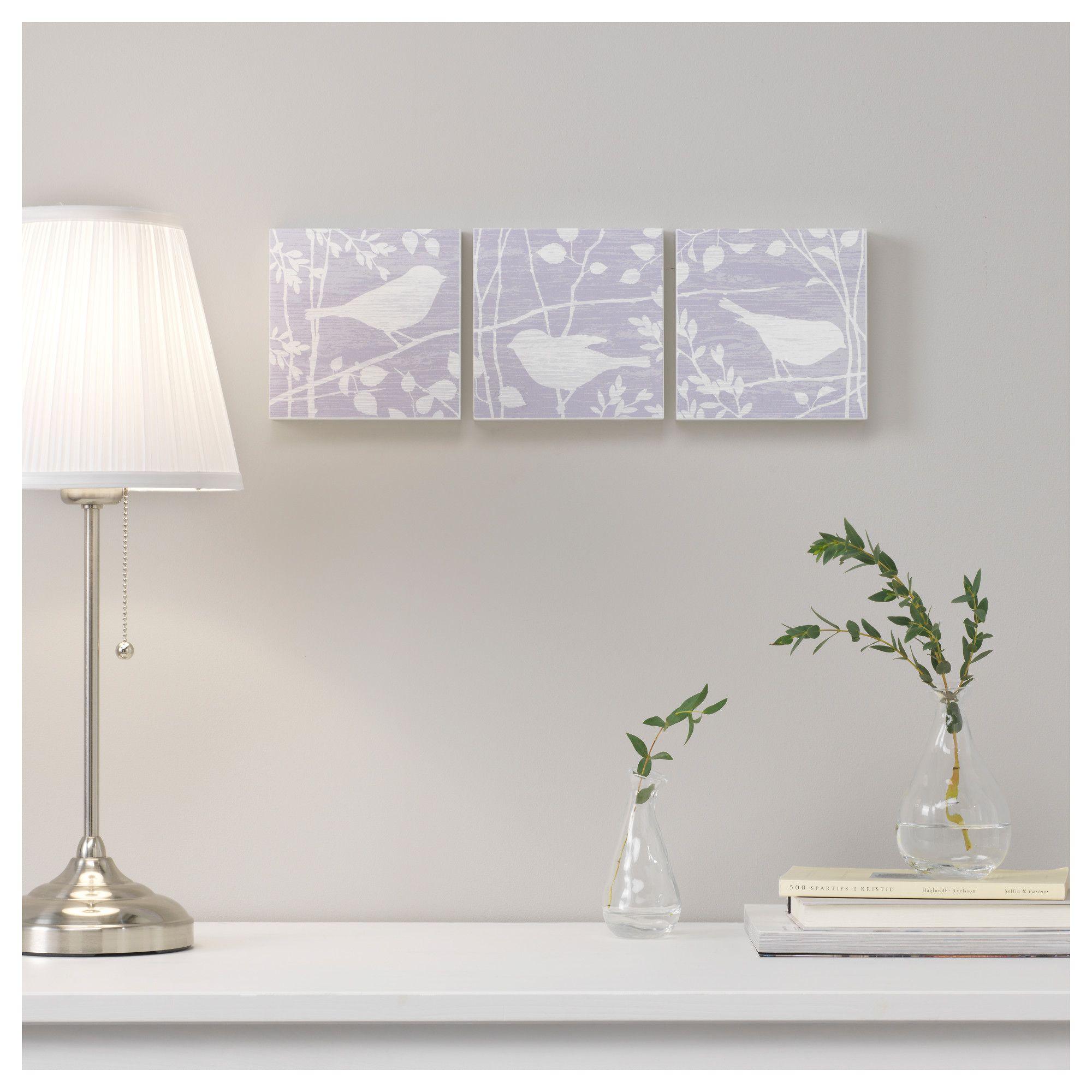 BJORNAMO πίνακας, σετ 3 τεμ. - IKEA | Διακόσμηση | Pinterest | Bedrooms