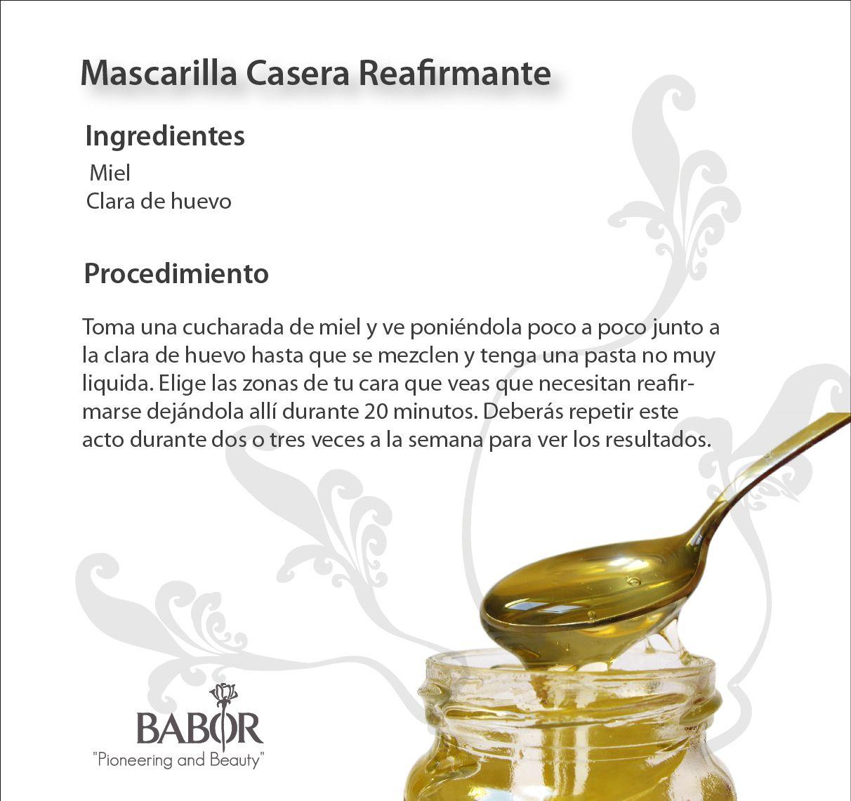 Mascarilla Casera Reafirmante #Babor #reafirmante