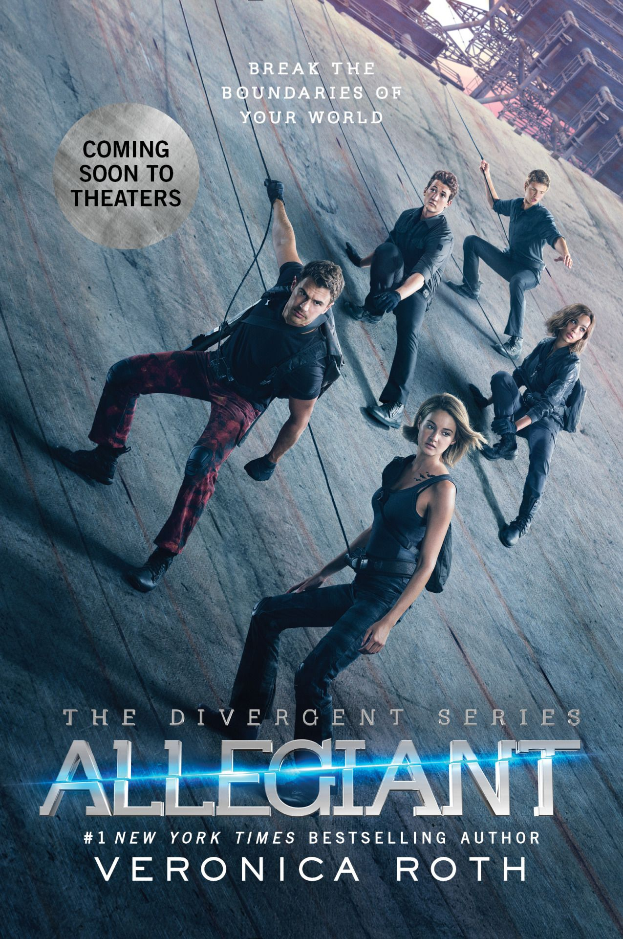 The #Allegiant movie tie-edition will be available on February/16 & it will feature 32 pages of bonus content! Happy birthday to my favorite Theo James!