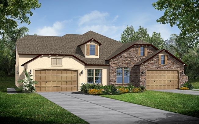A Isabella European Cottage Model By Calatlantic Homes In The Villas At Nocatee
