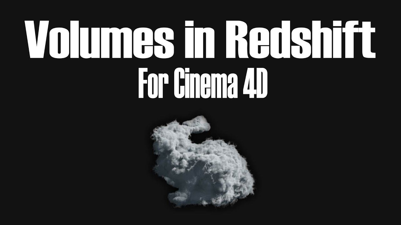 How to render Volumes in Redshift for Cinema 4D | Redshift