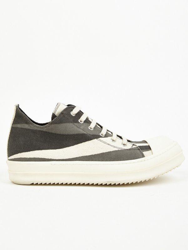 Striped low sneaker Rick Owens NiVuoKNR3