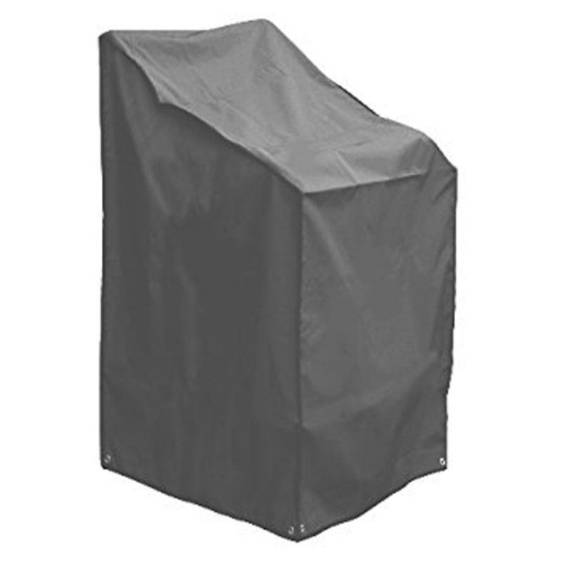 Outdoor Grey Stacking Chairs Cover