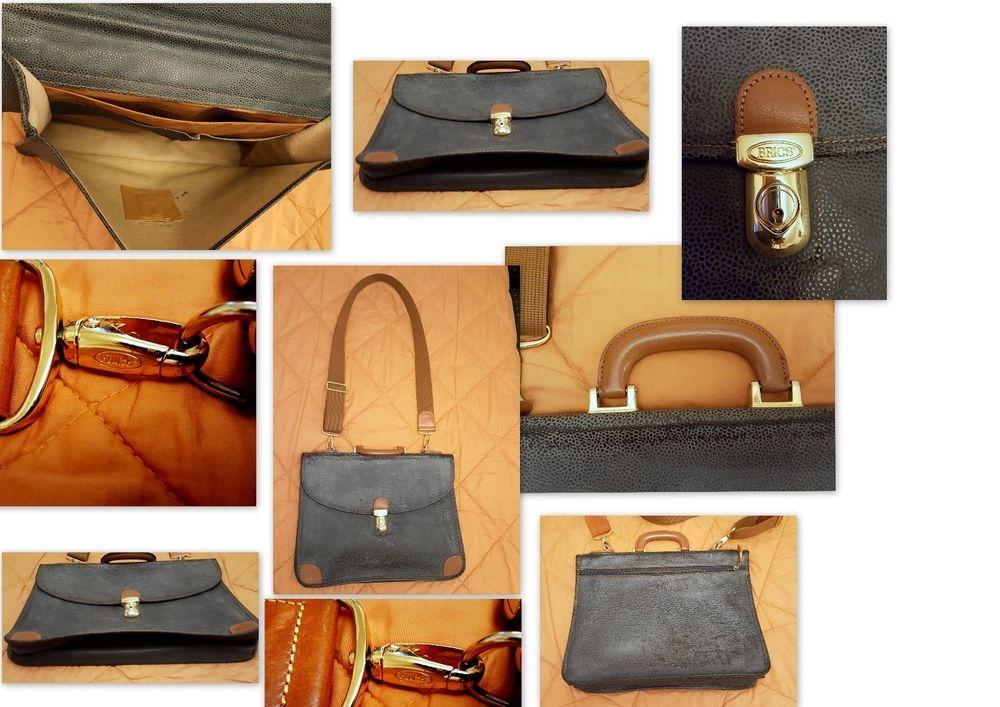 UNIKAT Vintage  Bric s Schultertasche