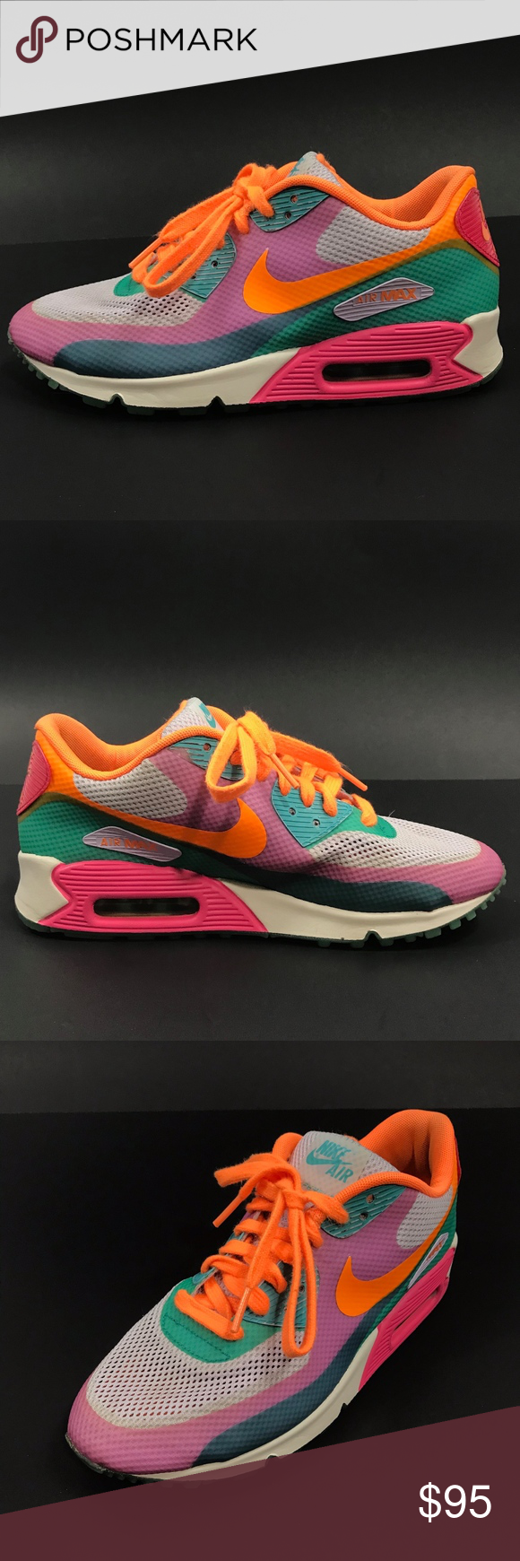 Nike Air Max 90 Hyperfuse Premium Running Shoes EUC Nike WMNS Air Max 90  Hyperfuse PRM d23e40ce28