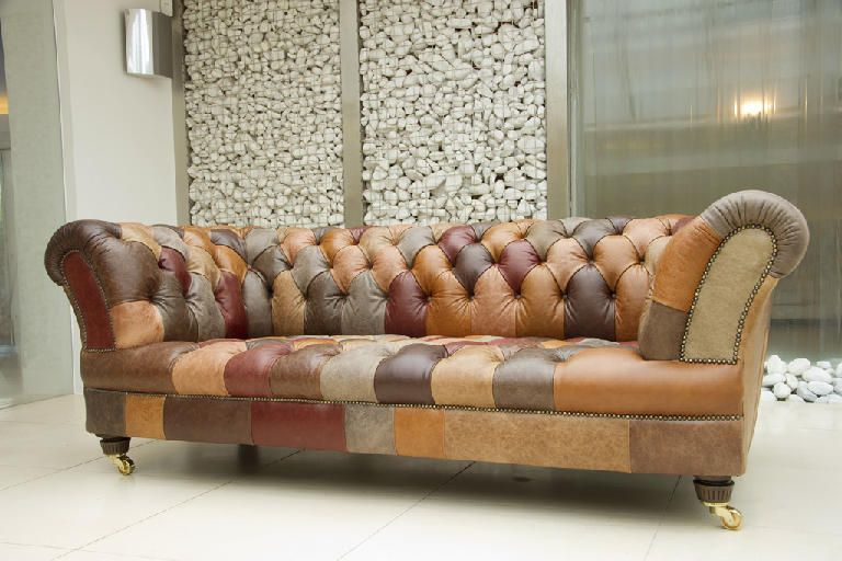 Enjoyable Patchwork Leather I Want To Make This Someday Home Interior And Landscaping Sapresignezvosmurscom
