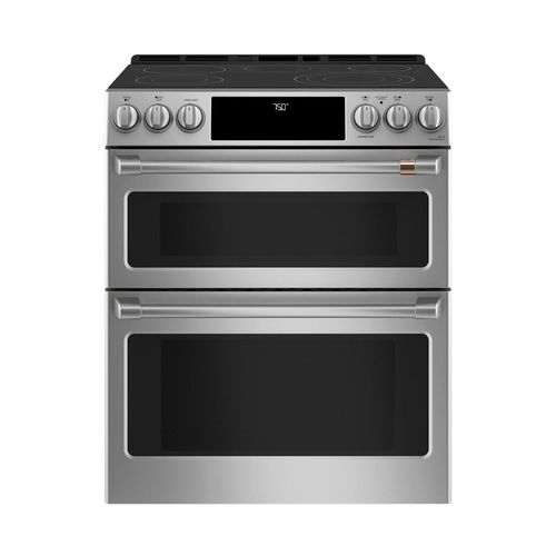 Cafa C 6 7 Cu Ft Slide In Double Oven Electric Convection Range
