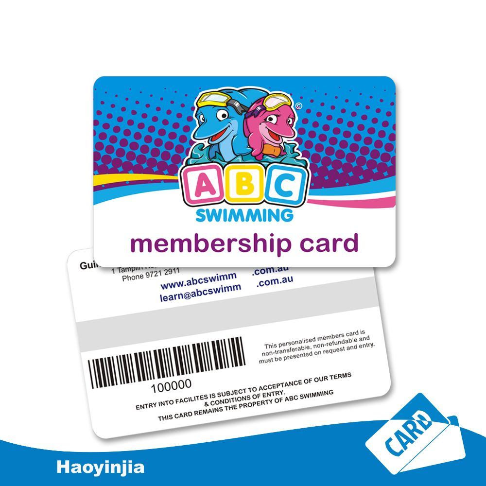 Custom Pdesign Printing Plastic Membership Cards Loyalty Card Design Member Card Cards