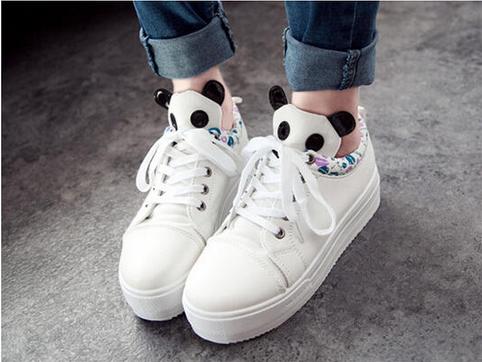 93adb68f48d SouthBay Shoes - Panda Platform Sneakers  pandasneakers  panda   platformsneakers  pandasneakers