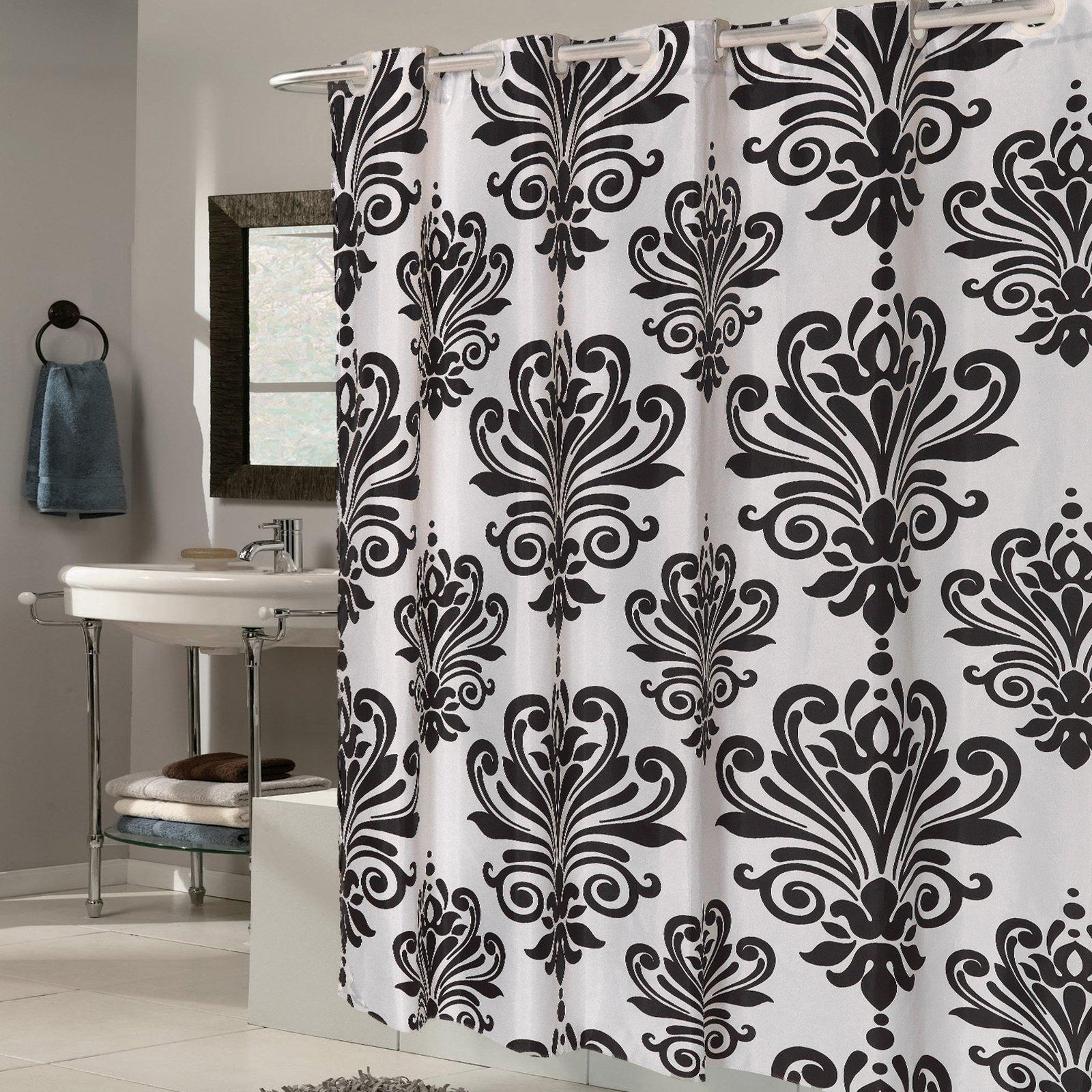 fabric shower curtain multi designs