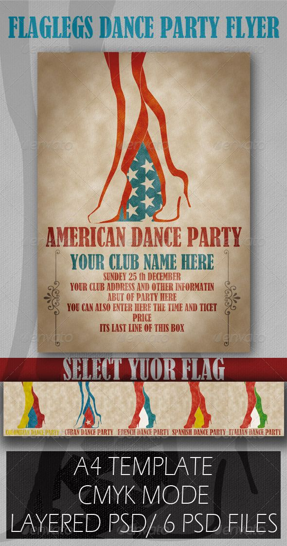 flyer flags