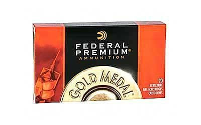 Fed Gold Mdl 308wn 168 Grain Weight Bthp 20-200