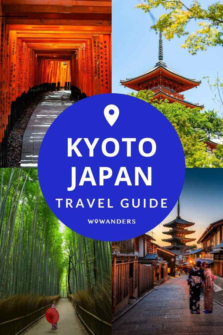 Kyoto Travel Guide A complete travel guide to Kyoto, Japan. One of Japan's most popular destinations, visit iconic destinations including a giant bamboo forest, local monkeys at Arashiyama Monkey Park, and a stunning train ride through the mountains. Things to do in Kyoto including traditional restaurants, temples galore and more. | Wowanders #Travel #Kyoto #Japan #KyotoTravel | things to do in kyoto | kyoto food | japan kyoto | places to see in japan | japan travel destinations | places to visi
