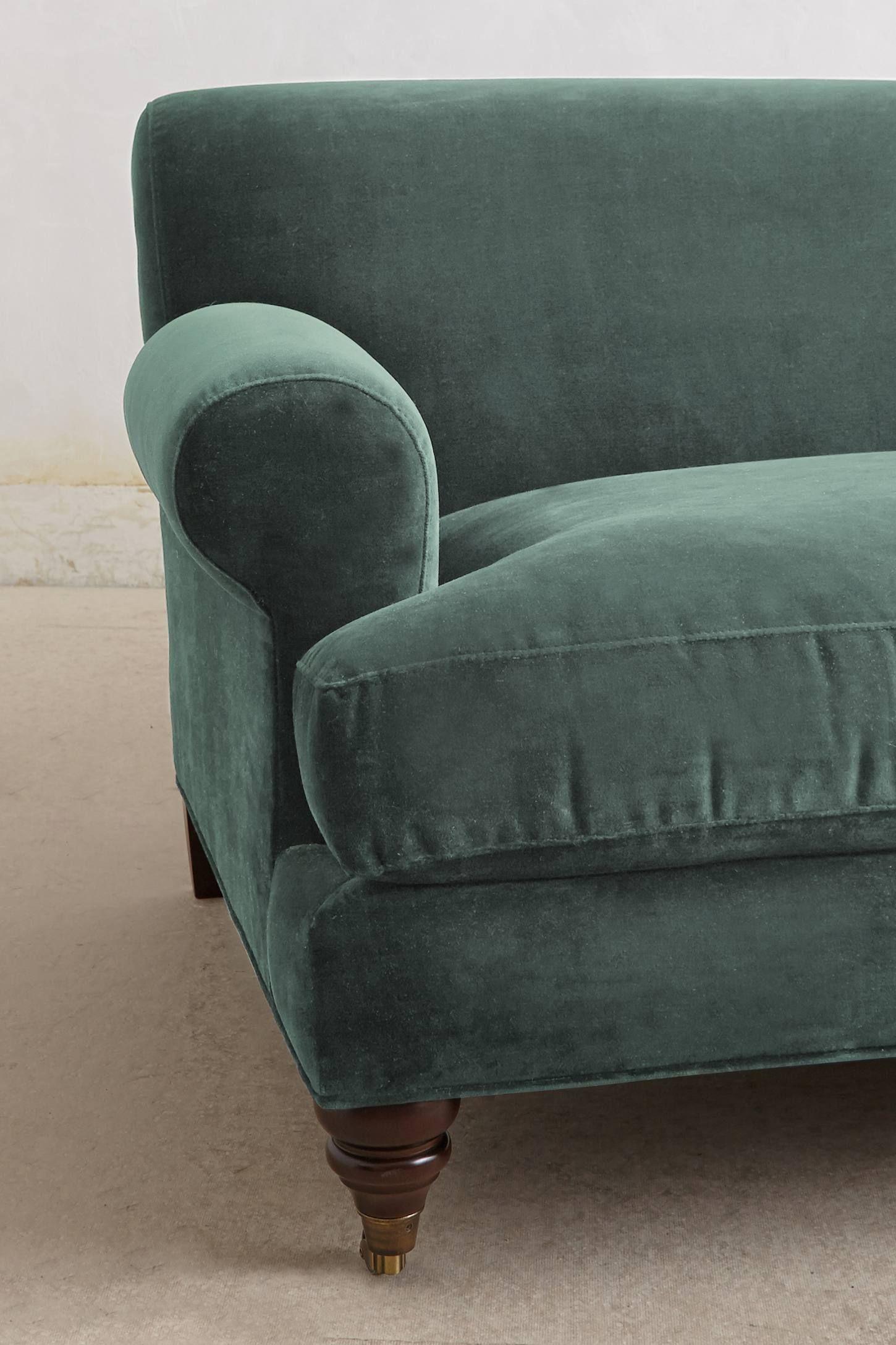 Velvet Willoughby Sofa, Hickory Sofa colors, Furniture, Sofa