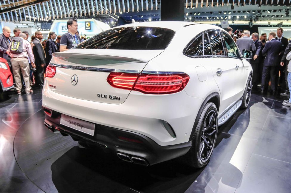 2016 Mercedes Benz Gle63 S Coupe 4matic Rolls Into Detroit Auto