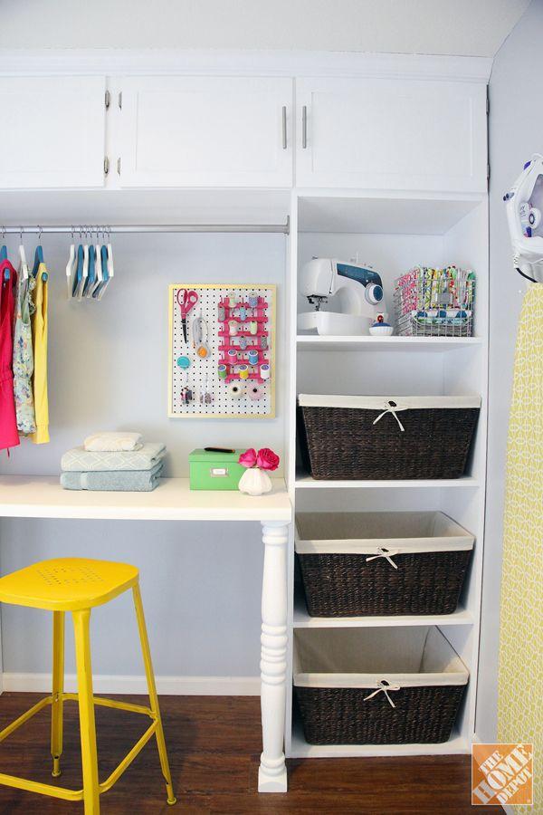 DIY Laundry Room Storage Unit