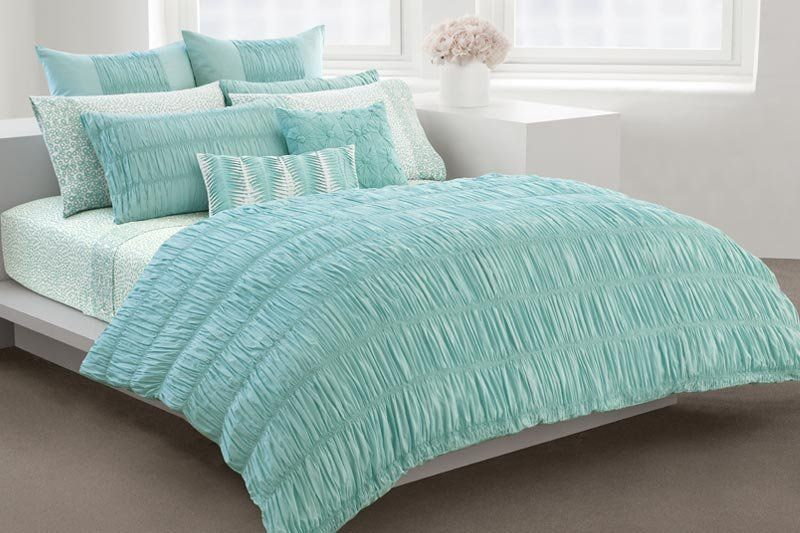 Dkny Cute Teal Duvet Cover Bed Teal Comforter