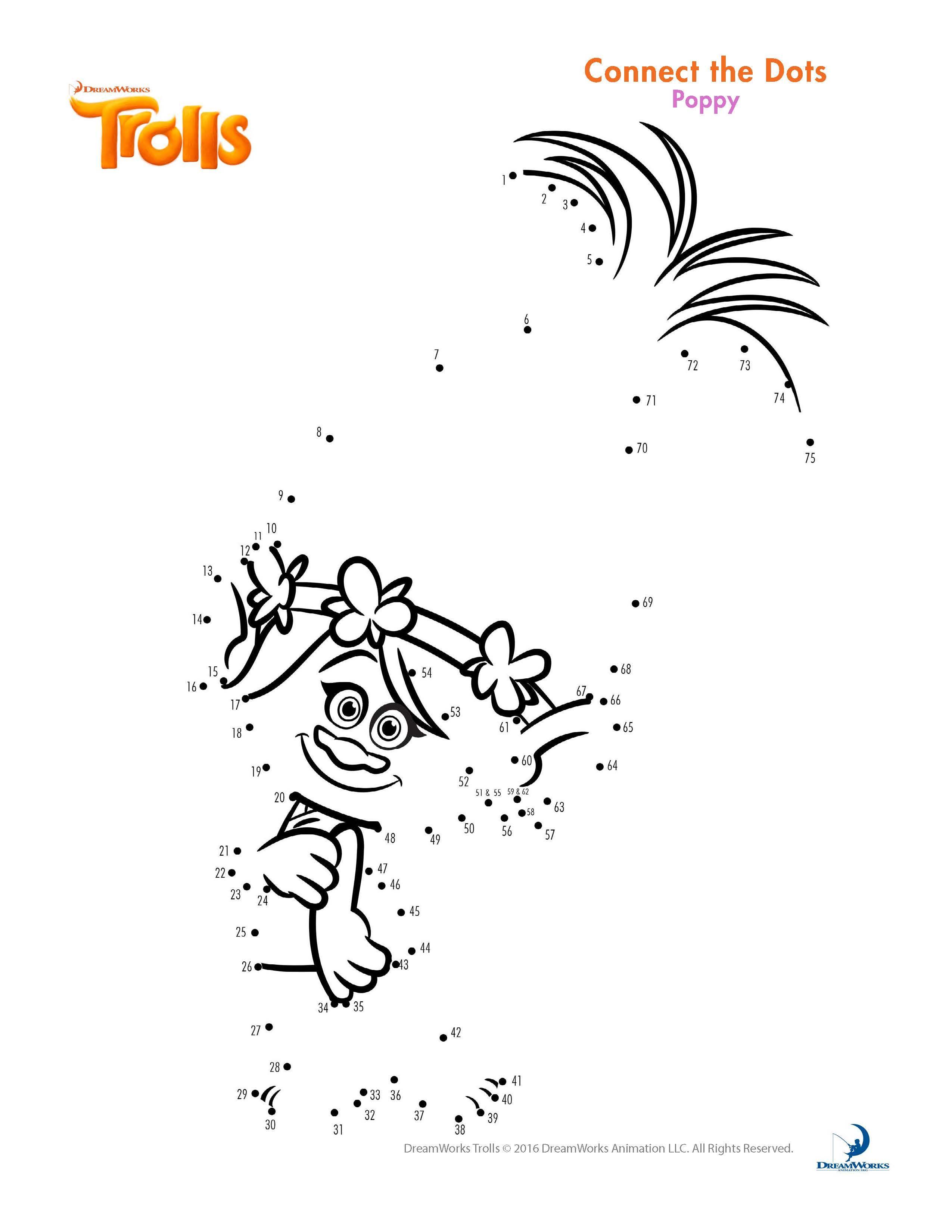 POPPY TROLLS PARA PINTAR | trolls | Pinterest | Pintar, Cumpleaños y ...