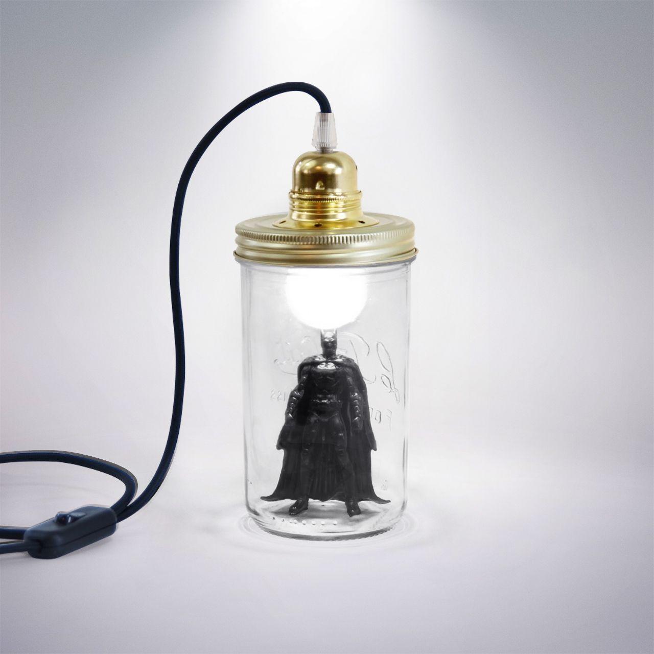 Baladeuse Batman Le Dans La Vus Par Superhéros Les Bocal Tête dorBQCeWx