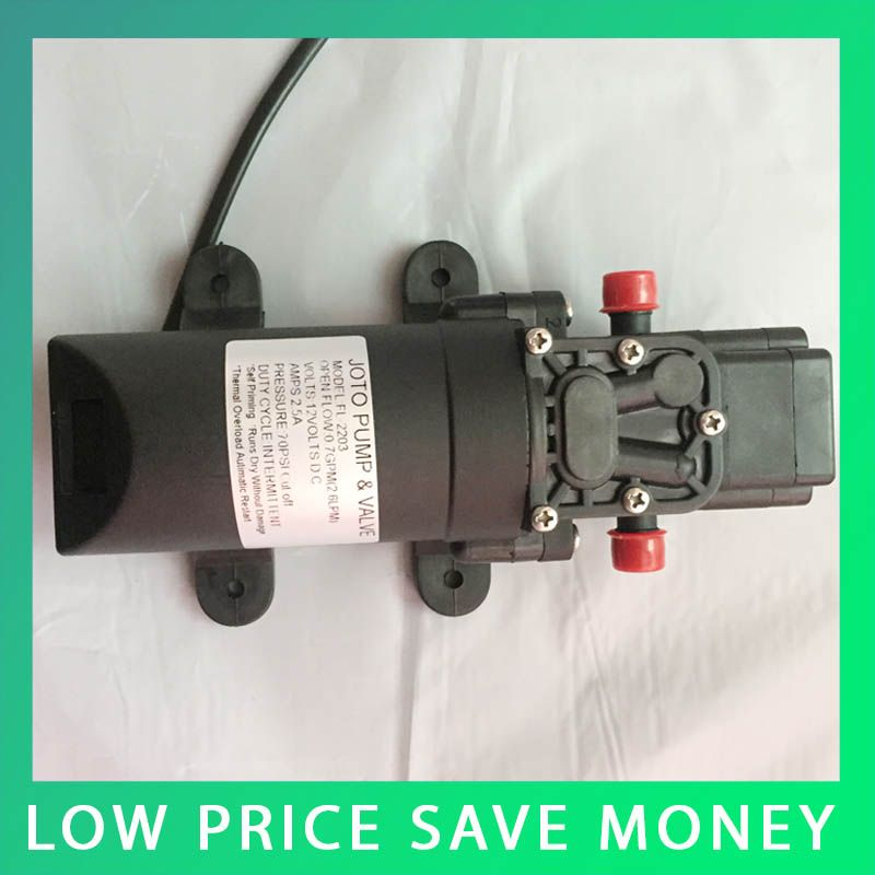 35psi high pressure water pump micro electric diaphragm pump 12v dc 35psi high pressure water pump micro electric diaphragm pump 12v dc large flow self priming ccuart Image collections