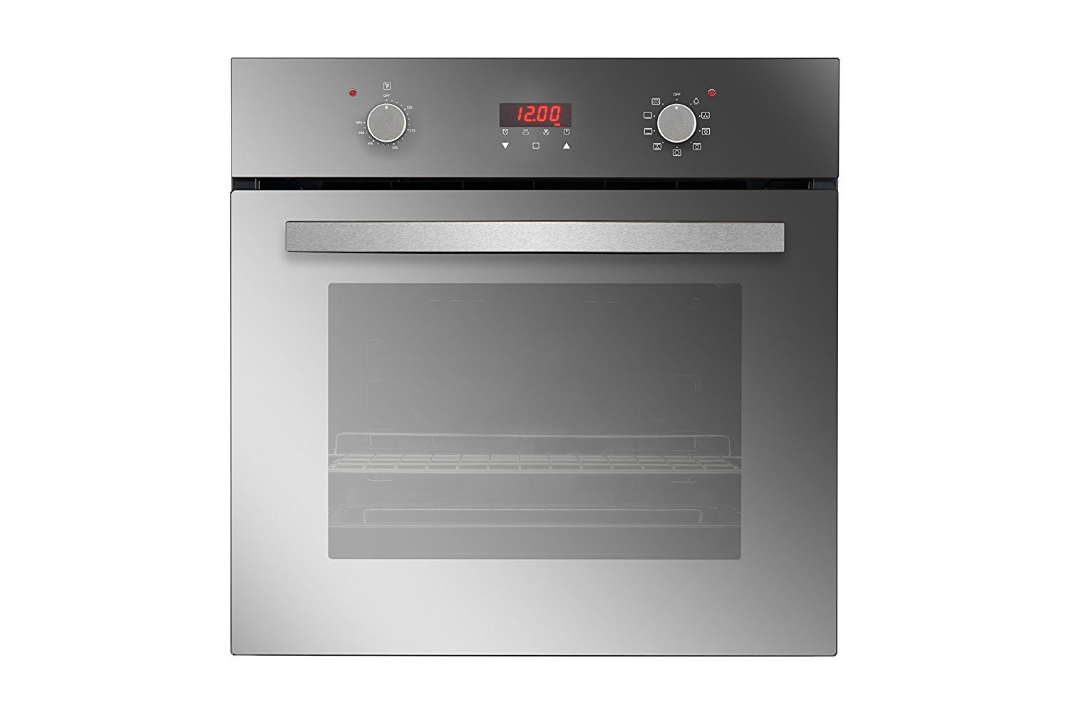empava 24 tempered glass electric built in single wall on wall ovens id=28105
