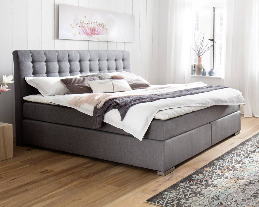 Boxspring Matratze 160x200 Meise Möbel Boxspringbett Lenno In 2019 House Master Bedroom
