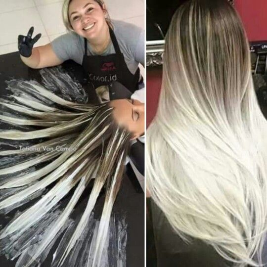 this new hair dying technique is amazing hair painting is the new way of doing balayage hair. Black Bedroom Furniture Sets. Home Design Ideas