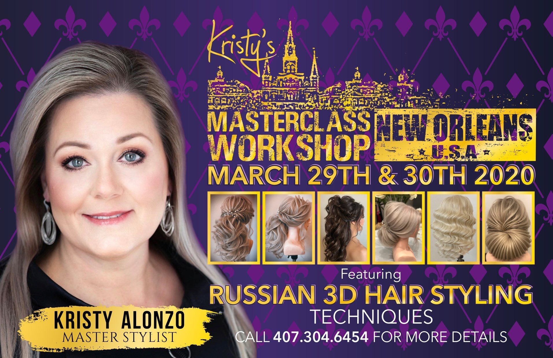 3d Russian Hairstyling Class In 2020 Master Class Russian Hairstyles Hair Styles