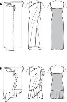 Kuvahaun tulos haulle easy wrap dress