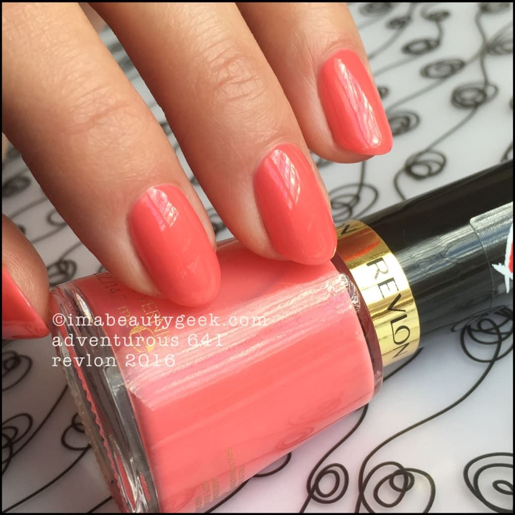 REVLON 2016 NAIL POLISH SWATCHES AND REVIEW | Beautygeeks