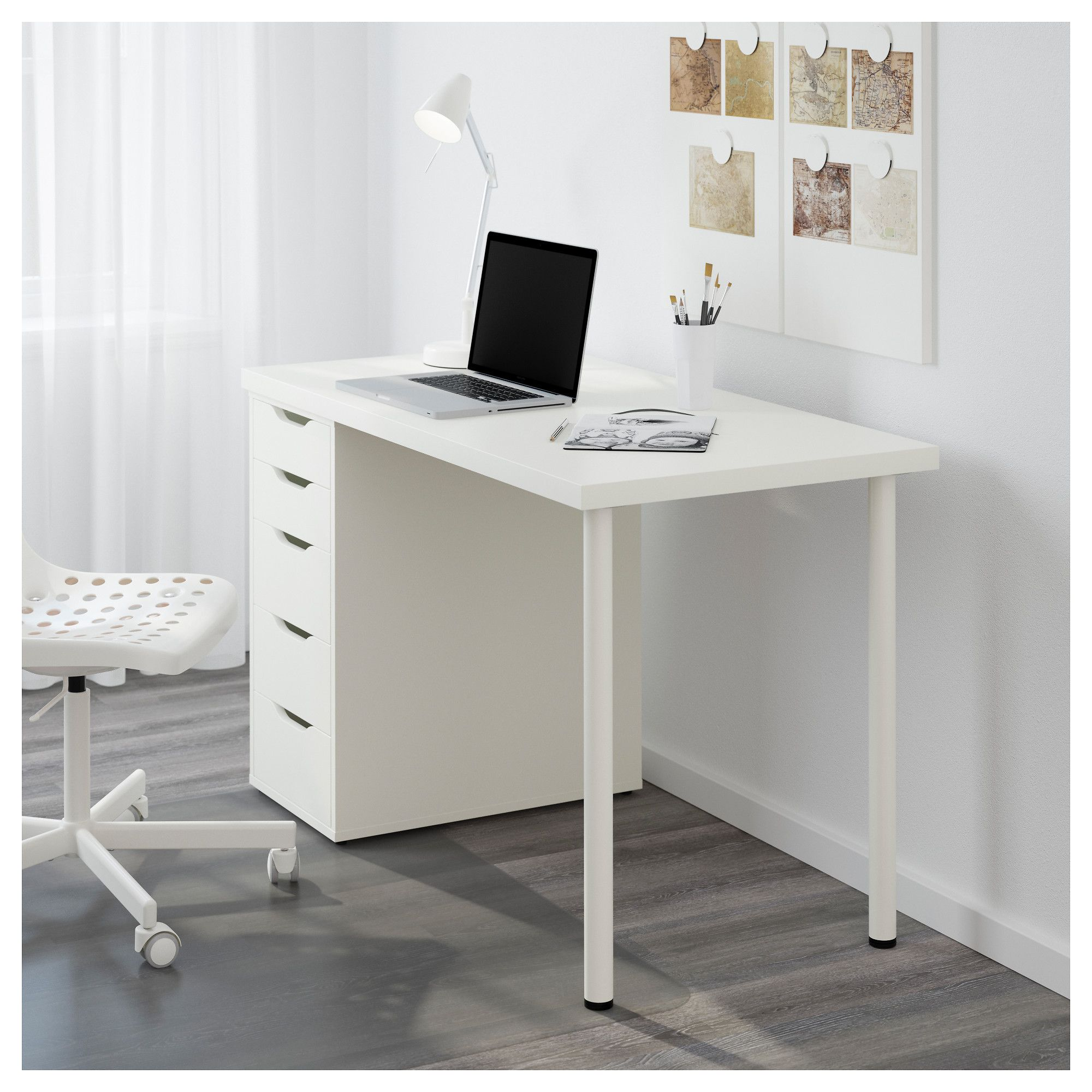 Linnmon Ikea Linnmon Alex Desk White Best Interior Furniture